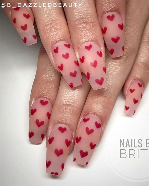 Coffin-Valentine's-Day-Nail-Art-Designs-2020-Vday-Nails-2