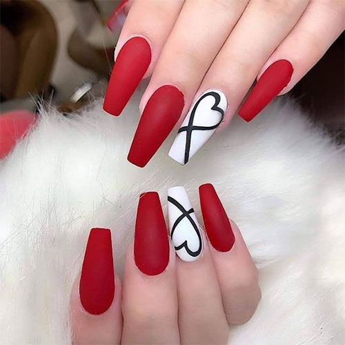 Coffin-Valentine's-Day-Nail-Art-Designs-2020-Vday-Nails-3