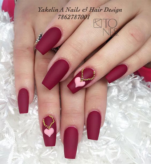 Coffin-Valentine's-Day-Nail-Art-Designs-2020-Vday-Nails-5