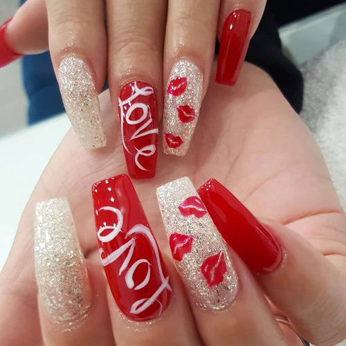 Coffin-Valentine's-Day-Nail-Art-Designs-2020-Vday-Nails-6