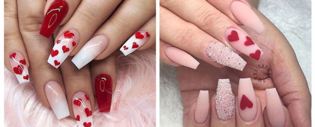 Coffin-Valentine's-Day-Nail-Art-Designs-2020-Vday-Nails-F