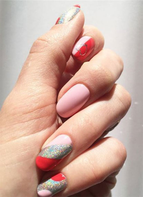 Easy-Valentine's-Day-Nail-Art-Designs-2020-Vday-Nails-10