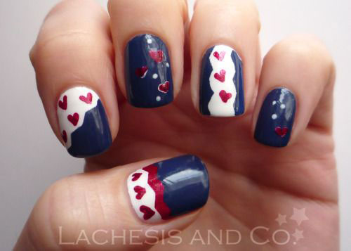 Easy-Valentine's-Day-Nail-Art-Designs-2020-Vday-Nails-11
