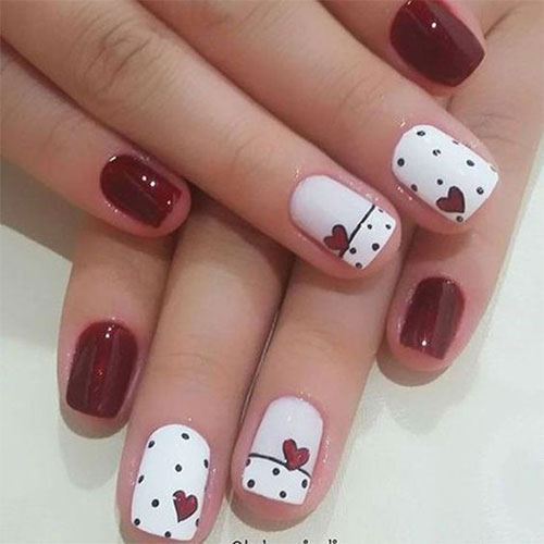 Easy-Valentine's-Day-Nail-Art-Designs-2020-Vday-Nails-12