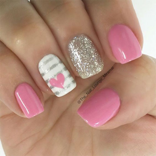 Easy-Valentine's-Day-Nail-Art-Designs-2020-Vday-Nails-2