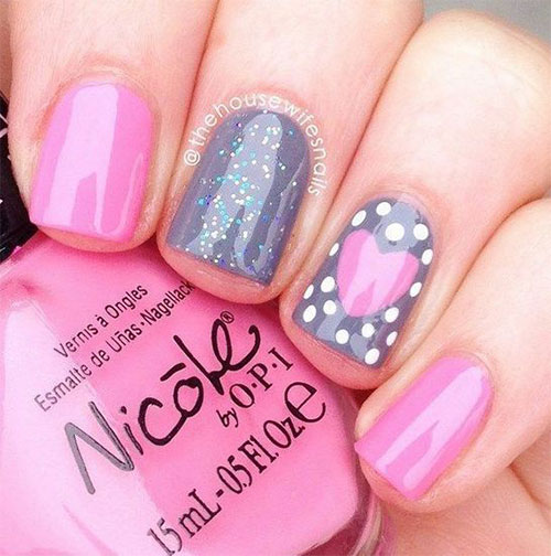 Easy-Valentine's-Day-Nail-Art-Designs-2020-Vday-Nails-5