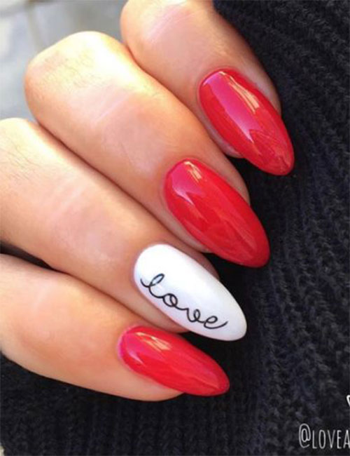 Easy-Valentine's-Day-Nail-Art-Designs-2020-Vday-Nails-7