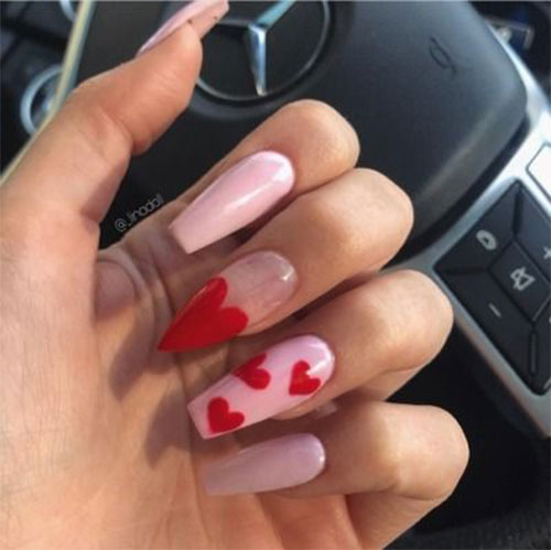 Easy-Valentine's-Day-Nail-Art-Designs-2020-Vday-Nails-8