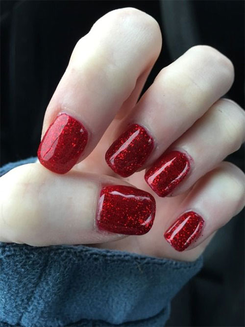 Easy-Valentine's-Day-Nail-Art-Designs-2020-Vday-Nails-9