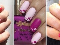 Easy-Valentine's-Day-Nail-Art-Designs-2020-Vday-Nails-F
