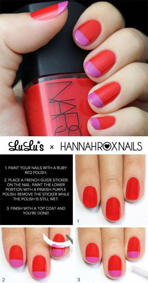 Step-By-Step-Valentine's-Day-Nail-Art-Tutorials-For-Learners-2020-13