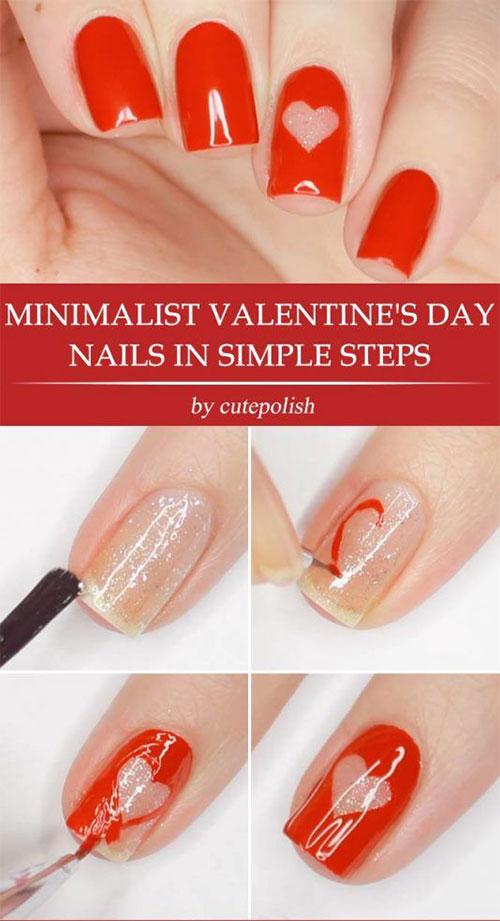 Step-By-Step-Valentine's-Day-Nail-Art-Tutorials-For-Learners-2020-14