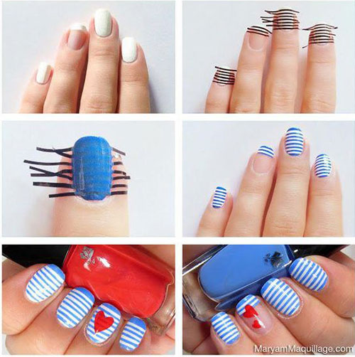 Step-By-Step-Valentine's-Day-Nail-Art-Tutorials-For-Learners-2020-18