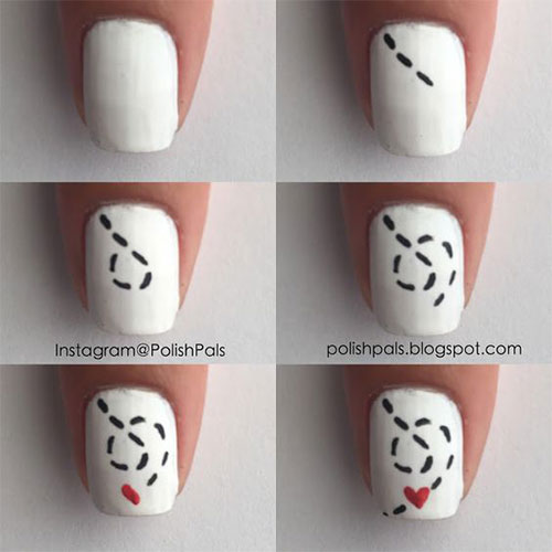 Step-By-Step-Valentine's-Day-Nail-Art-Tutorials-For-Learners-2020-3