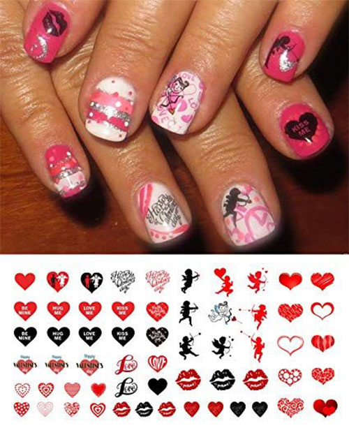Valentine's-Day-Nail-Art-Tutorials-2020-2