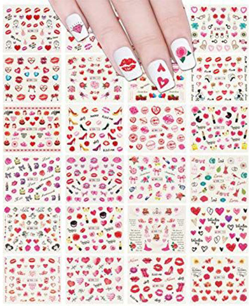 Valentine's-Day-Nail-Art-Tutorials-2020-3