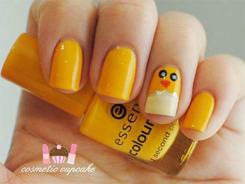 15-Easter-Chick-Nail-Art-Designs-Ideas-2020-13