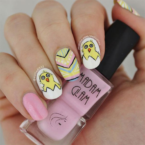 15-Easter-Chick-Nail-Art-Designs-Ideas-2020-14