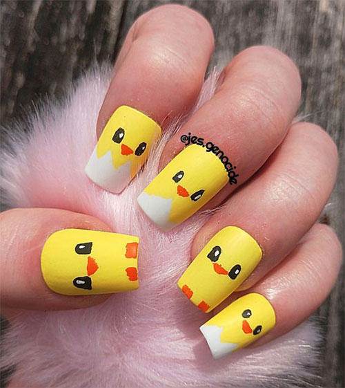 15-Easter-Chick-Nail-Art-Designs-Ideas-2020-15