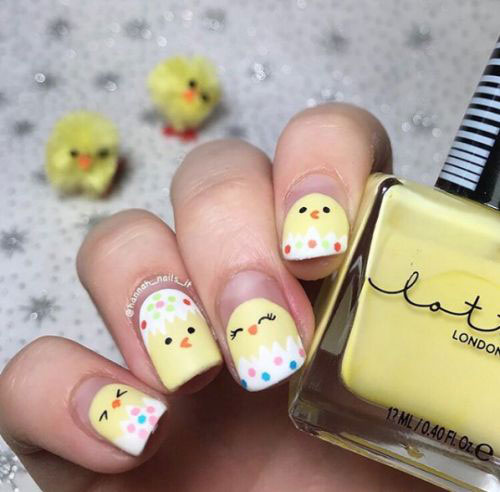 15-Easter-Chick-Nail-Art-Designs-Ideas-2020-17