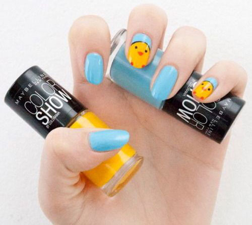 15-Easter-Chick-Nail-Art-Designs-Ideas-2020-18