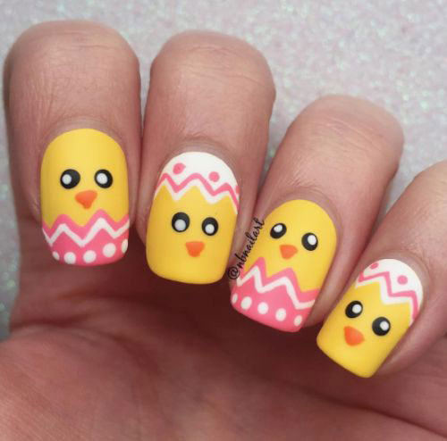 15-Easter-Chick-Nail-Art-Designs-Ideas-2020-6
