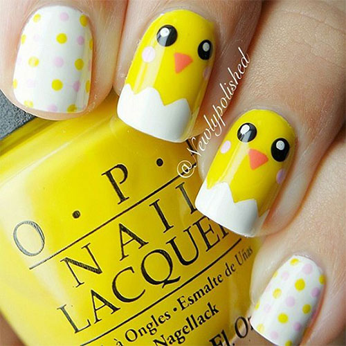 15-Easter-Chick-Nail-Art-Designs-Ideas-2020-7