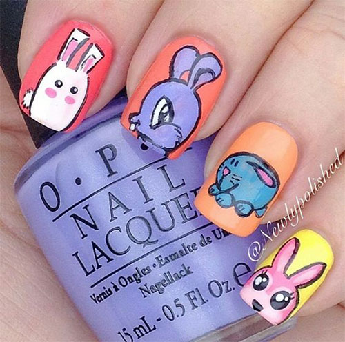 Best-Easter-Bunny-Nails-Art-Ideas-2020-10