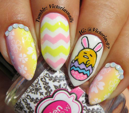 Best-Easter-Bunny-Nails-Art-Ideas-2020-14