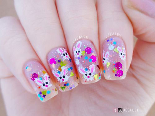 Best-Easter-Bunny-Nails-Art-Ideas-2020-15