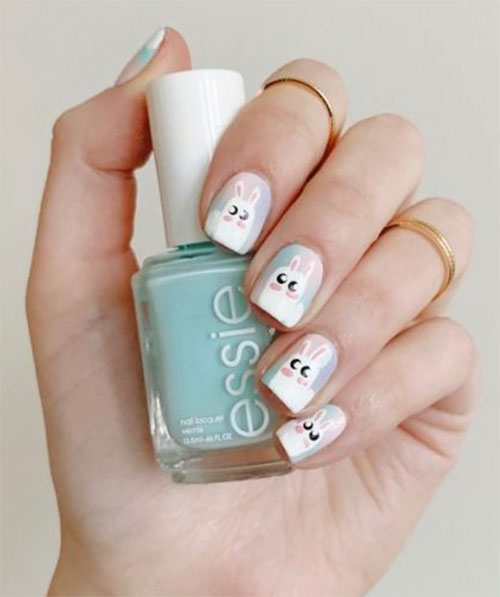 Best-Easter-Bunny-Nails-Art-Ideas-2020-17