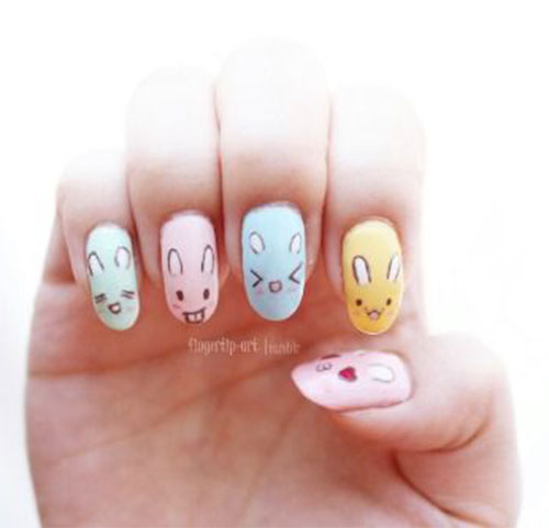 Best-Easter-Bunny-Nails-Art-Ideas-2020-18
