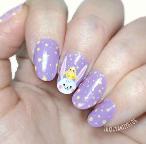 Best-Easter-Bunny-Nails-Art-Ideas-2020-6