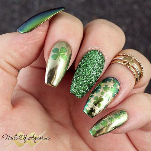 Best-St-Patrick's-Day-Nail-Art-Designs-2020-12
