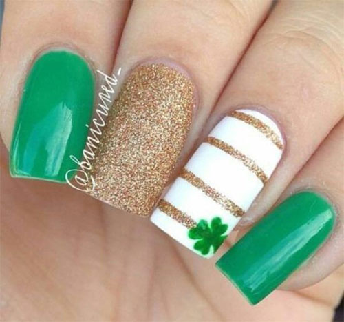 Best-St-Patrick's-Day-Nail-Art-Designs-2020-14