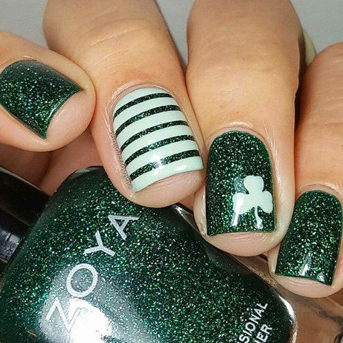 Best-St-Patrick's-Day-Nail-Art-Designs-2020-18