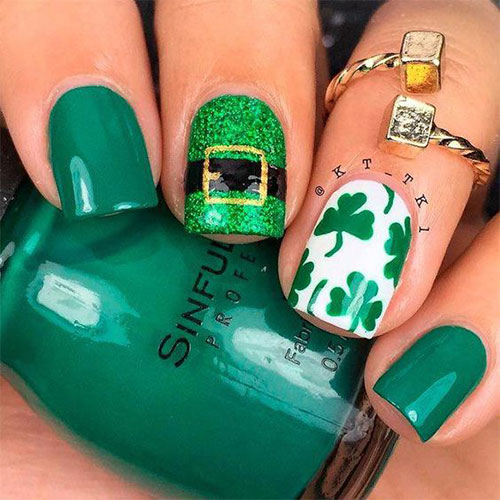 Best-St-Patrick's-Day-Nail-Art-Designs-2020-2