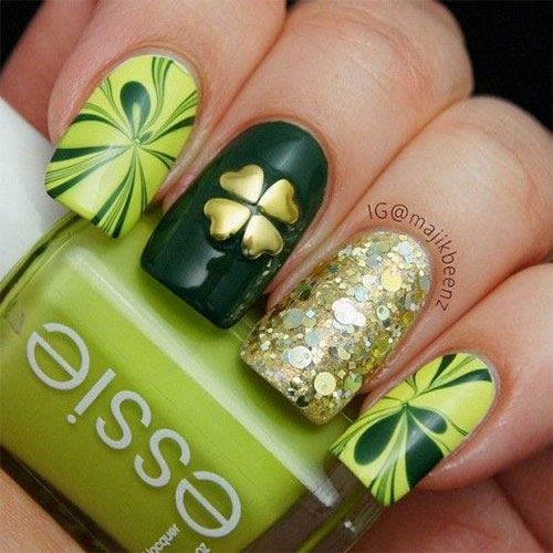 Best-St-Patrick's-Day-Nail-Art-Designs-2020-3