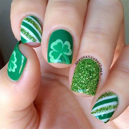 Best-St-Patrick's-Day-Nail-Art-Designs-2020-9