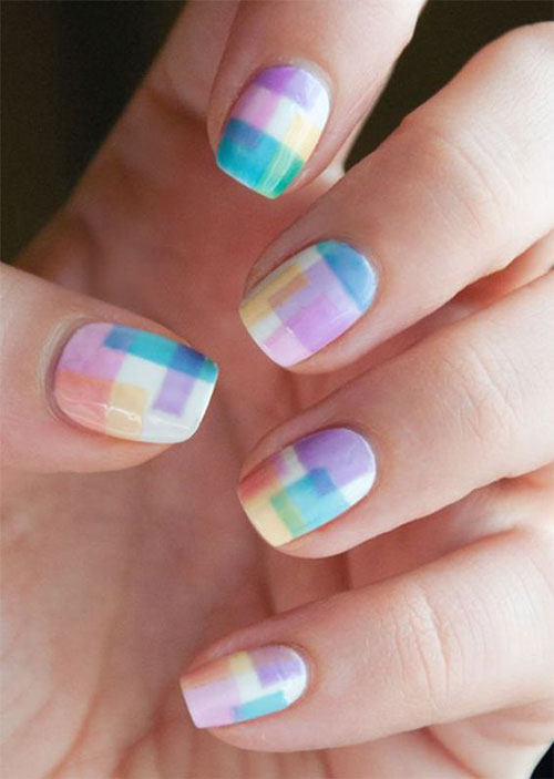 Easter-Color-Nail-Art-Ideas-2020-Happy-Easter-Nails-12