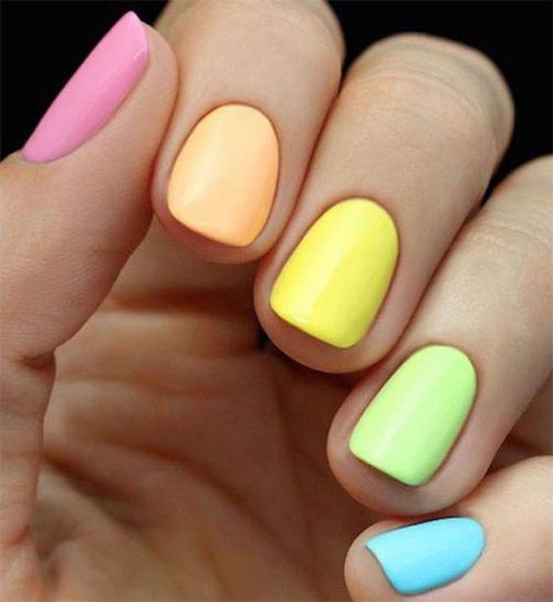 Easter-Color-Nail-Art-Ideas-2020-Happy-Easter-Nails-8