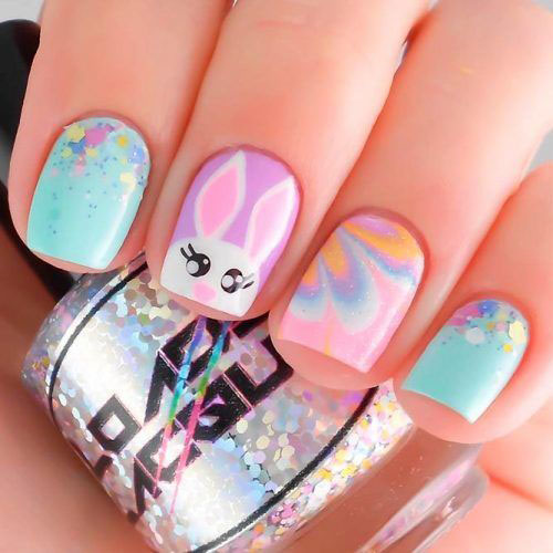 Easter-Gel-Nail-Art-Ideas-2020-Happy-Easter-Nails-1