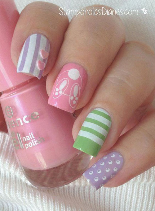 Easter-Gel-Nail-Art-Ideas-2020-Happy-Easter-Nails-10