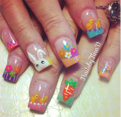 Easter-Gel-Nail-Art-Ideas-2020-Happy-Easter-Nails-11
