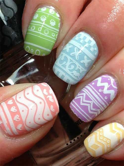Easter-Gel-Nail-Art-Ideas-2020-Happy-Easter-Nails-12