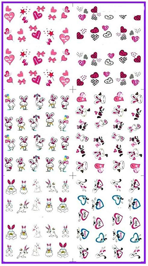 Easter-Nail-Art-Stickers-Decals-2020-6