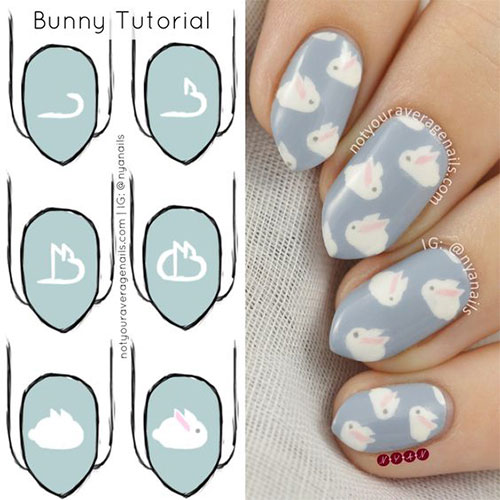 Easter-Nail-Art-Tutorials-For-Beginners-Learners-2020-4