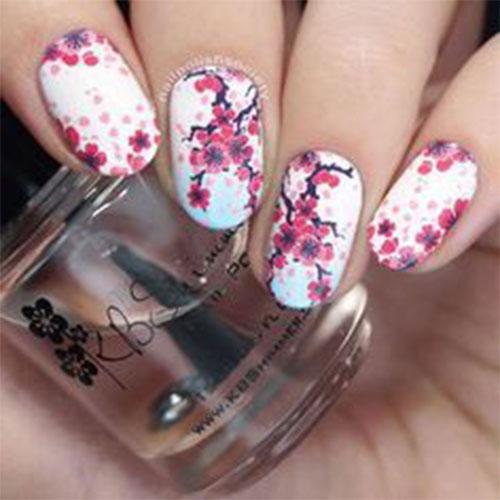 Cherry-Blossom-Spring-Nails-Art-Designs-Ideas-2020-11