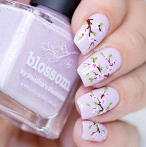 Cherry-Blossom-Spring-Nails-Art-Designs-Ideas-2020-12