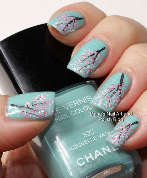 Cherry-Blossom-Spring-Nails-Art-Designs-Ideas-2020-16